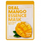 FarmStay Real Mango Essence Mask - Маска тканевая для лица с экстрактом манго, 23 мл