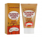 Too Cool For School Pumpkin Sleeping Pack - Нічна маска з екстрактом гарбуза, 30 мл