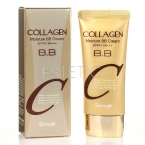 Enough Collagen Moisture BB Cream SPF47PA +++ - Зволожуючий BB-крем з колагеном, 50 г