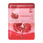 FarmStay Visible Difference Pomegranate Mask - Маска тканевая д\лица с экстрактом граната, 23 мл