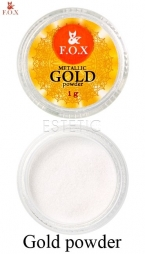 F.O.X. Metalic Mirror Powder GOLD - Дзеркальна пудра (золото), 1 г